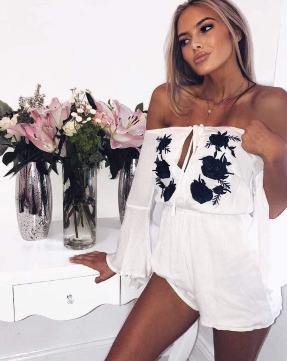 The 'Santorini' Playsuit