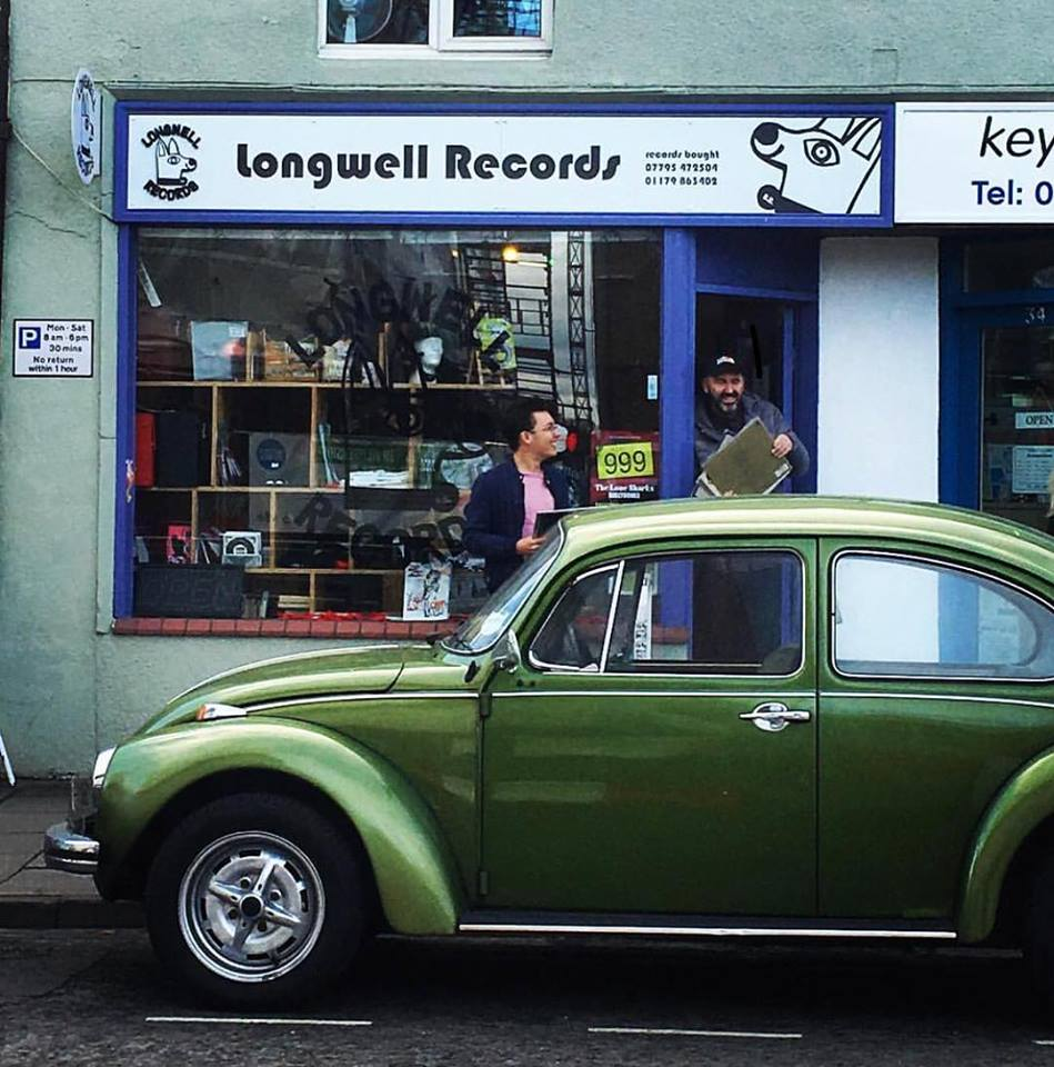 LONGWELL RECORDS VOUCHER £5