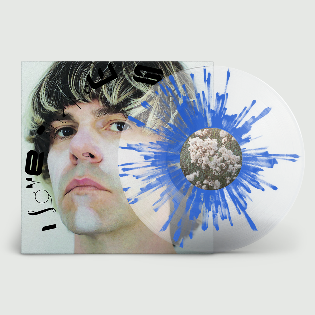 Tim BURGESS I Love The New sky splatter vinyl album released SALE