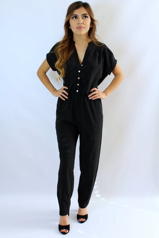 Black Mely jumpsuit