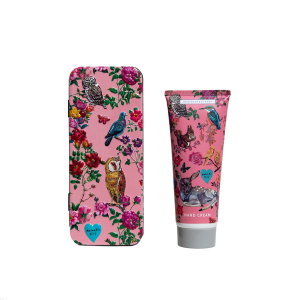 Natalie Lete Forest Folk Tin with Hand Cream