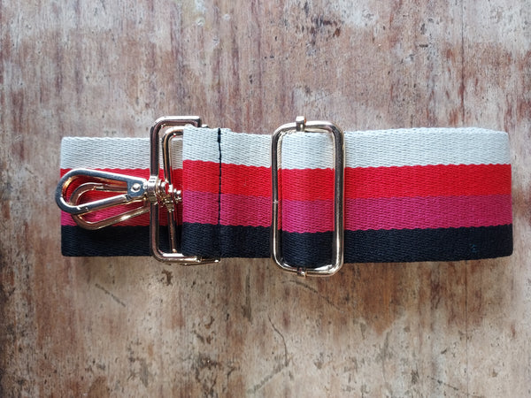 Striped Strap Relaxed Pink