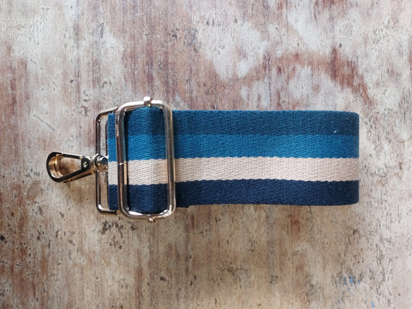Striped Strap Blue Neutrals