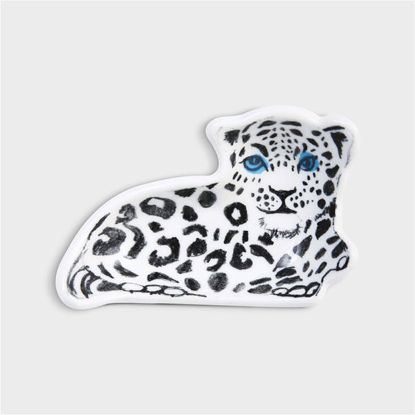 Snow Leopard Trinket Tray