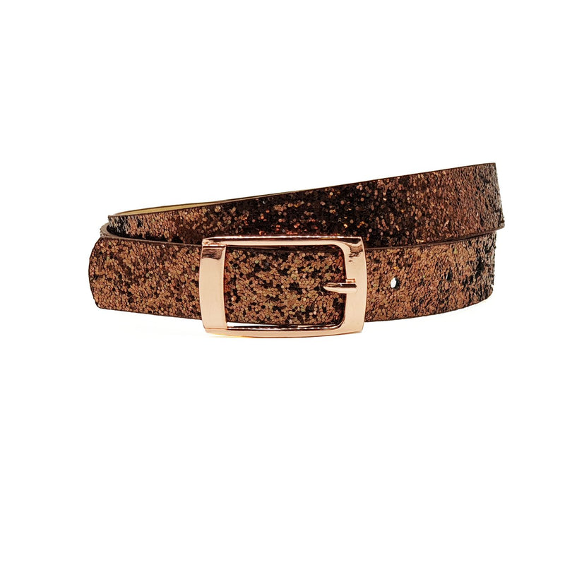 Copper Sparkle Belt