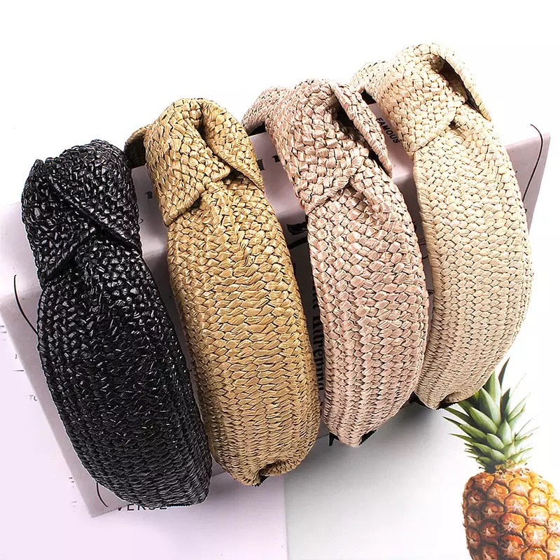 Natural Straw - 4 Colours