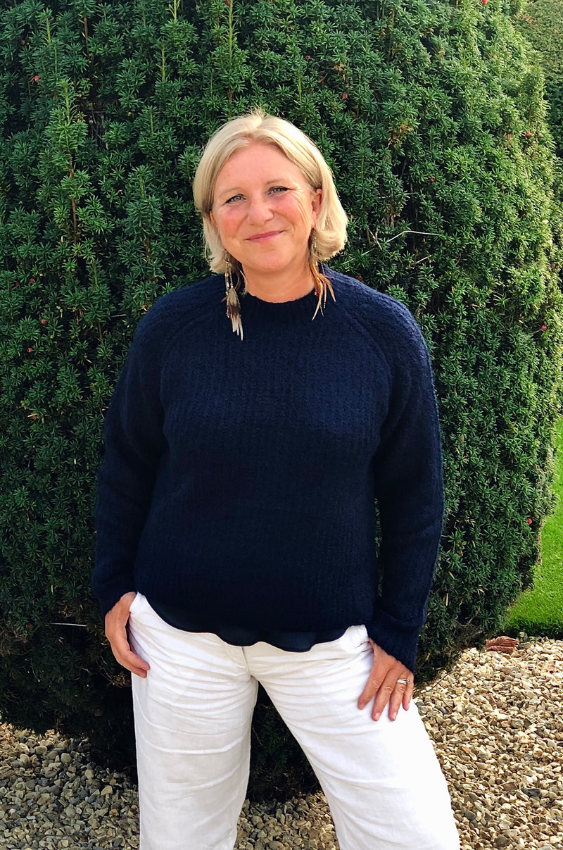 Navy Laura Jumper - Hint of Sparkle