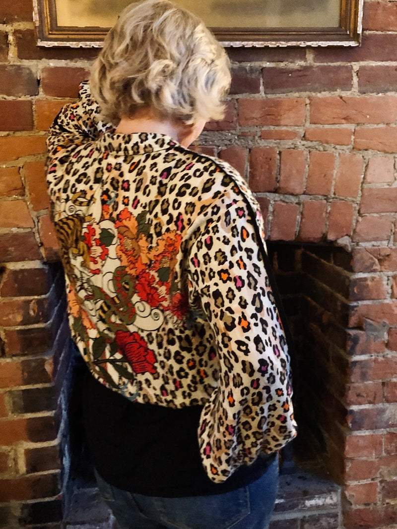 Bright Leopard Shirt / Jacket by Conditions Apply