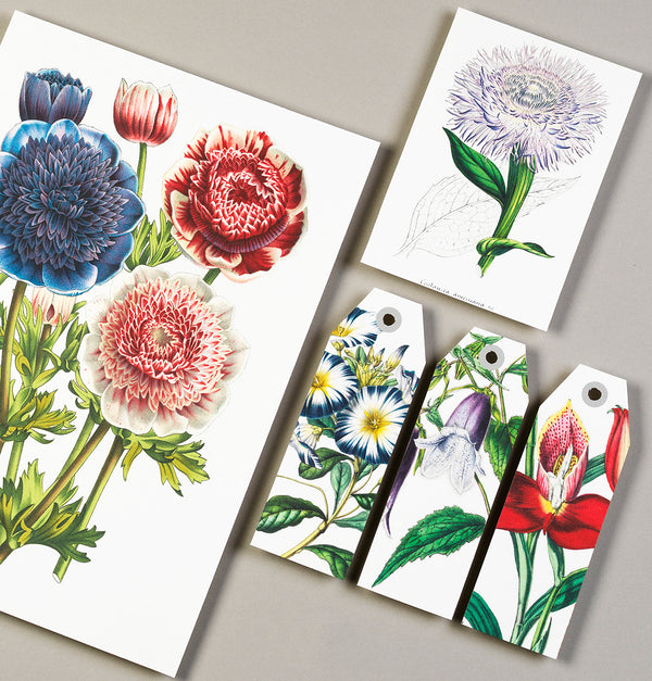 Papercraft and Prints Book - Flowers