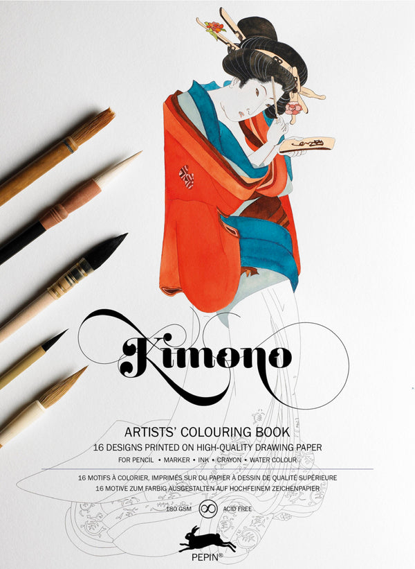 Artists Designs - KIMONO Colouring Book
