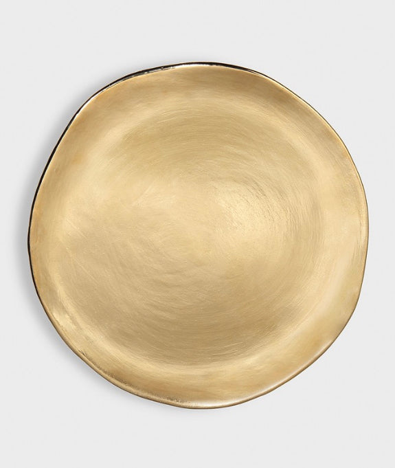 Set of 3 Gold Plates