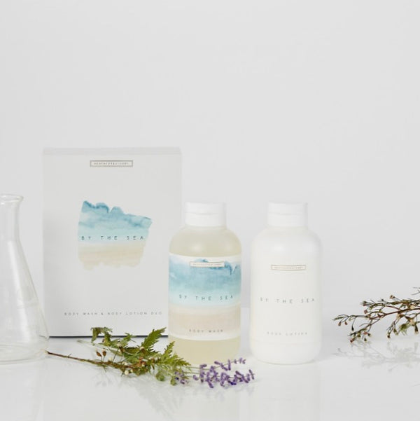 BY THE SEA - Body Wash & Body Lotion
