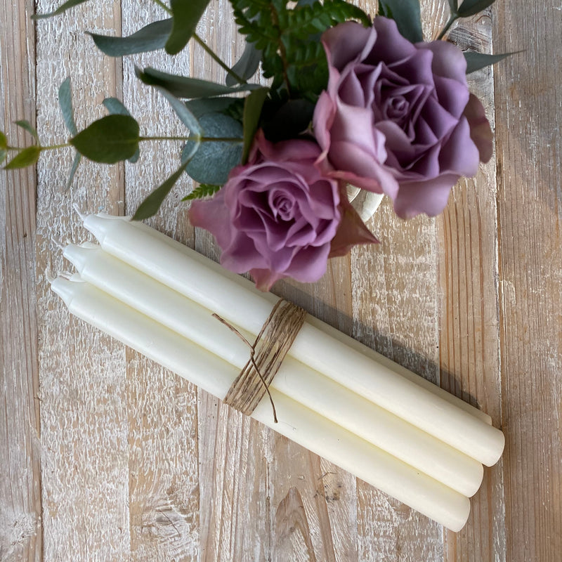 Coloured Candles - BUNDLES OF 6 OF ONE COLOUR