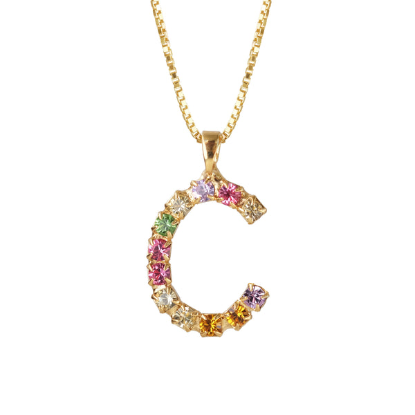 Swarovski Rainbow Crystals Necklace - by Caroline Svedbom