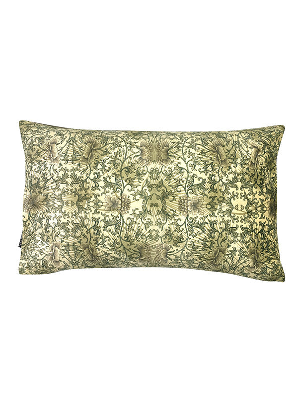 Green Muted Pattern - Velvet Cushion 30 x 50