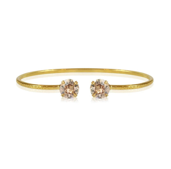 Caroline Svedbom Thin Bangle with Swarovski Crystal