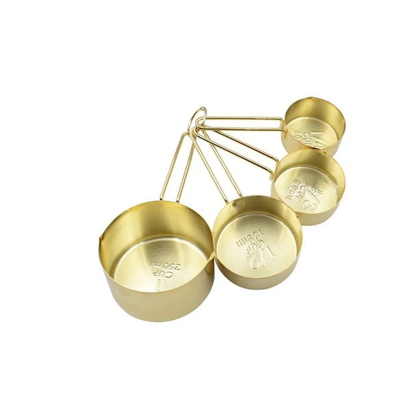 Gold Measuring Cups Set