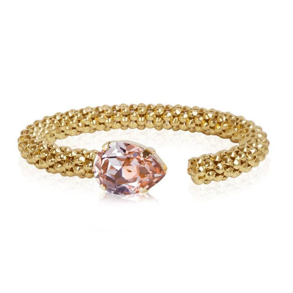 Caroline Svedbom Rope Bangle with Swarovski Crystal