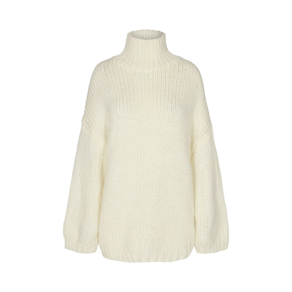 Ultimate Chunky Knit Cream Jumper - by Sofie Schnoor