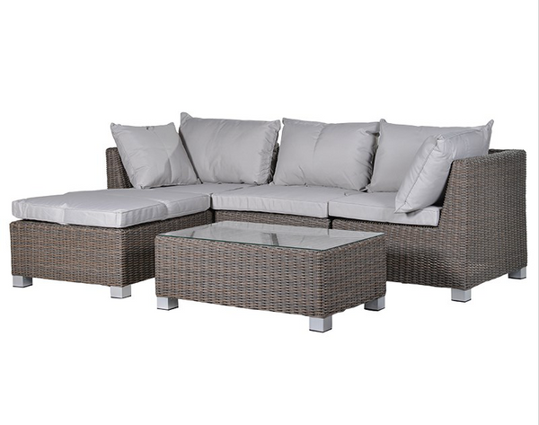 Outdoor Living Sofa, Chaise (Stool) and Coffee Table