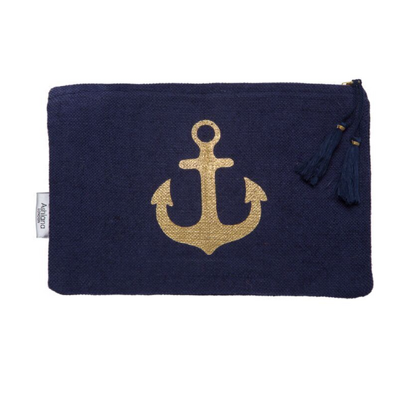 Nautical Summer Clutch