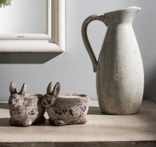 Rabbit Stone Planter