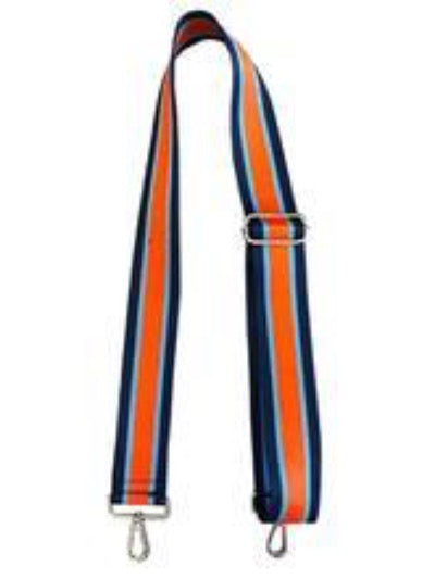 Striped Strap Orange and Blue