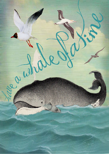 Have a Whale of a Time - Card