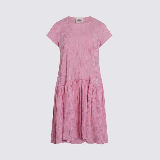 MADS NORGAaRD Drastica Crinkle Short Sleeved Dress