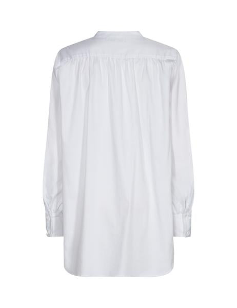 LEVETE Room Long White Shirt