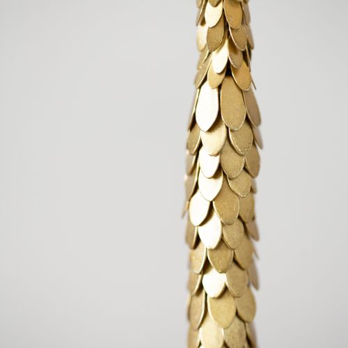 Antique Gold Thin Pine Cone