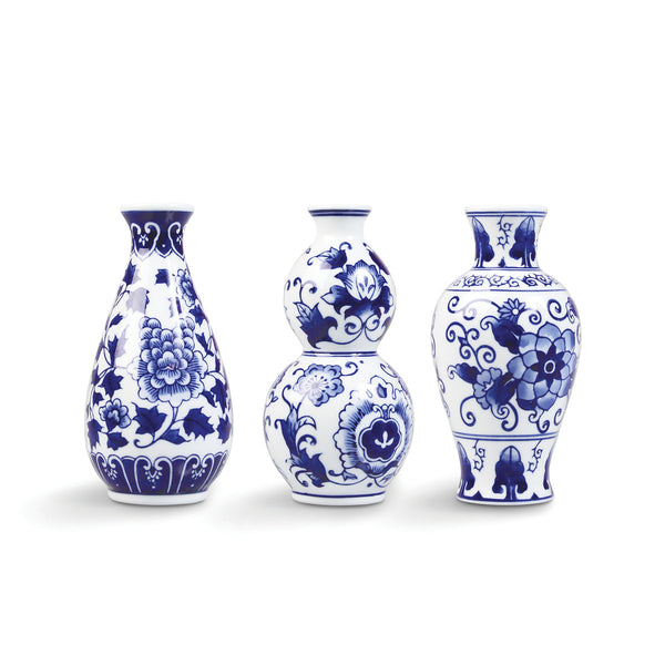 Delightful Dutch Delft Vases (Single or Set)