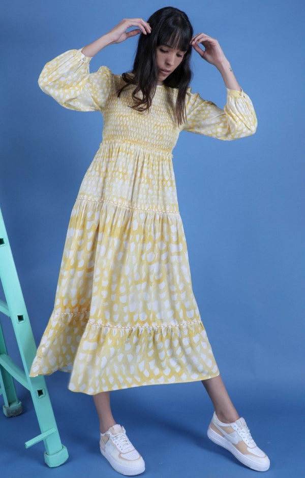 Conditions Apply Manou Maxi Dress in SOFT YELLOW (with Length)