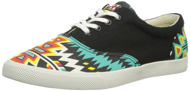 Bucketfeet Boxcars Womens Low to Canvas Slip-On 8