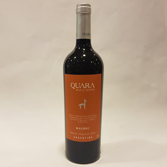 Quara Estate Malbec Seleccion  2016