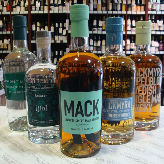 Gins & Late Summer Whiskies with Mackmyra Whisky
