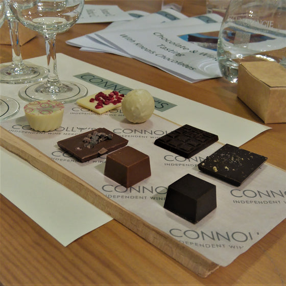 Chocolate & Wine Tasting 2018