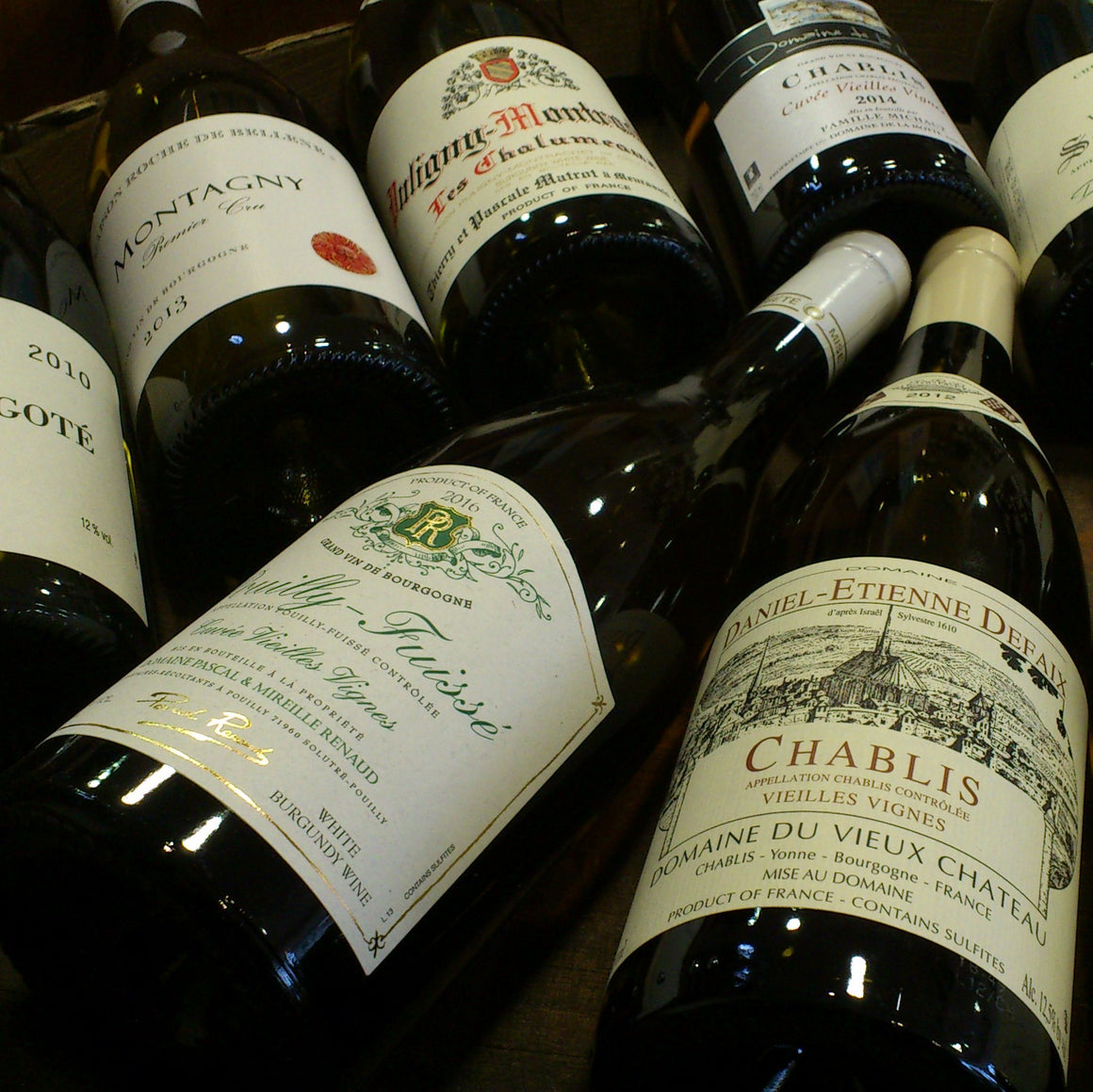 Chablis and White Wines of Burgundy