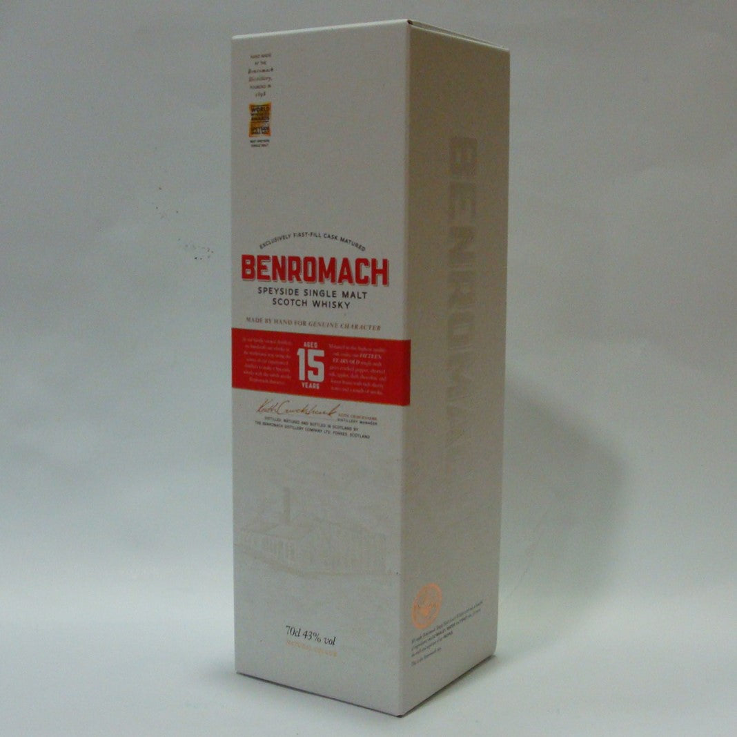 Benromach 15 year old 43%