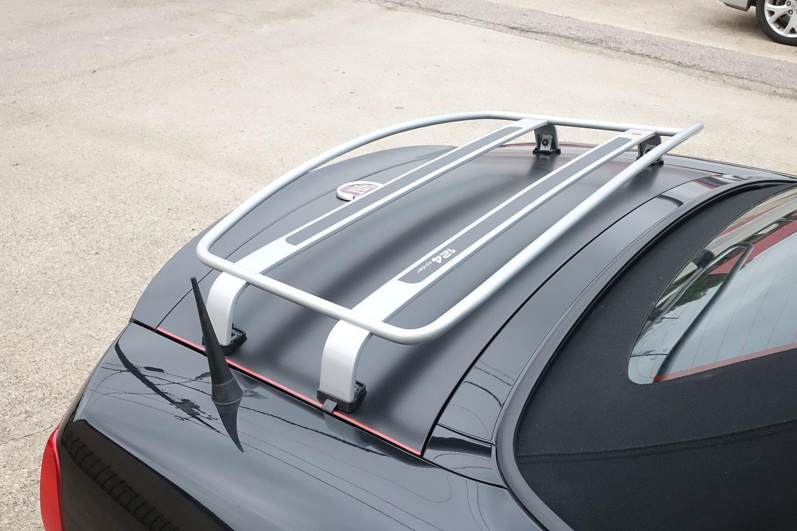2017-on 124 Spider Stubby Antenna - Black Aluminum | FIAT