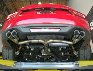 2017-on FIAT Spider Goodwin Racing RoadsterSport System ONE Muffler/Midpipe  Combo