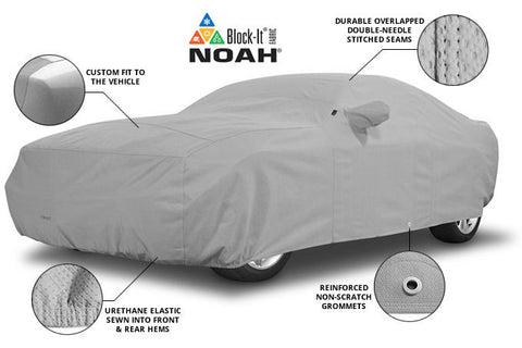 2012-on Fiat 500 Covercraft Block It 200 Series Exact Fit Car Cover - FIAT 124 Spider Parts