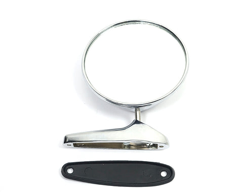Exterior Chromed Rearview Mirror