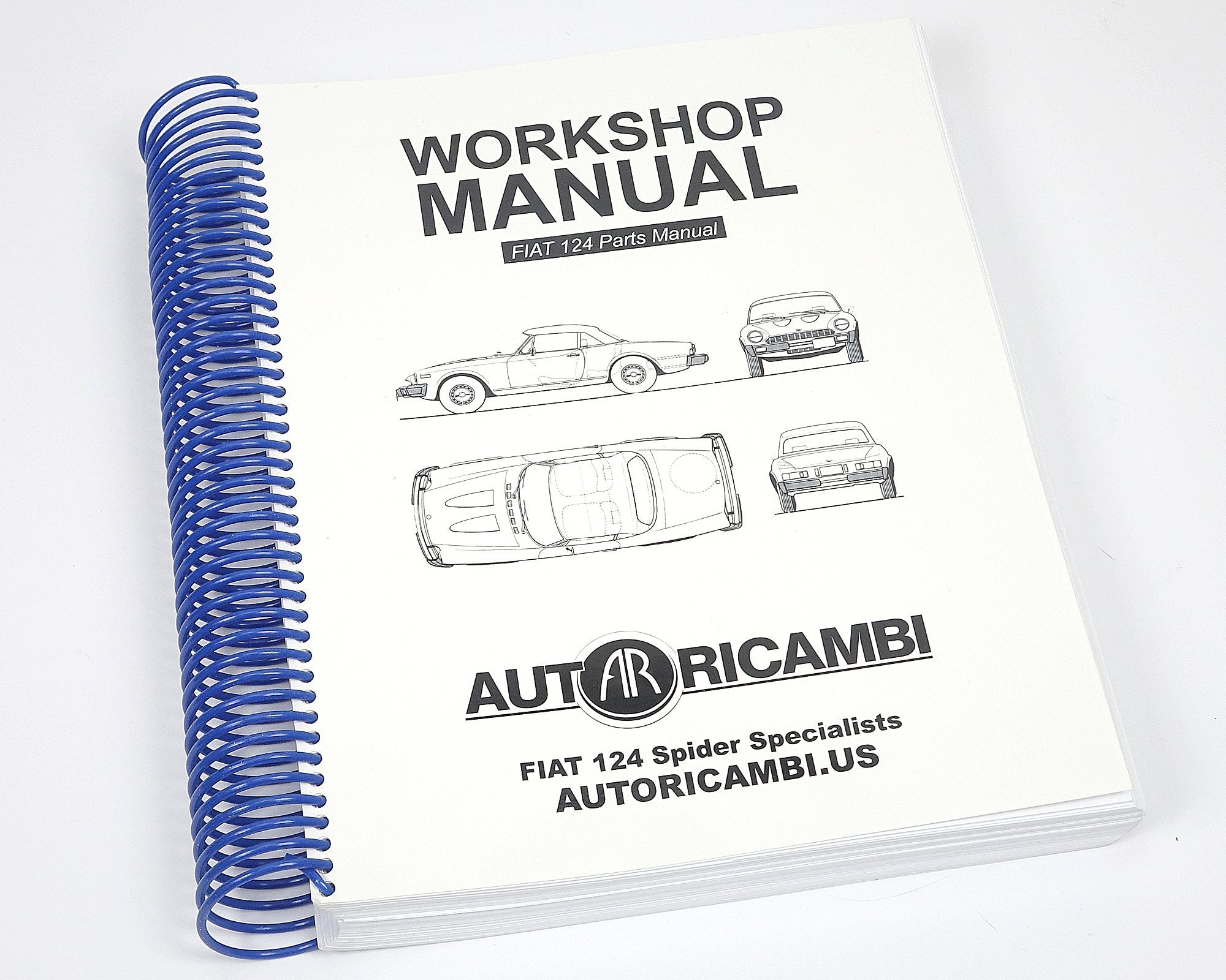 Factory Shop Manual-1966-85 Classic Spider-[Auto Ricambi]-[ ...
