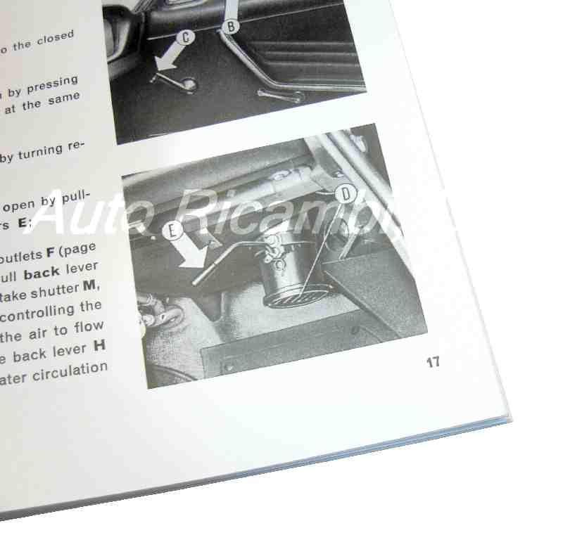 1982 Fiat Spider 124 Wiring Diagram Owners And Service Manual Guide