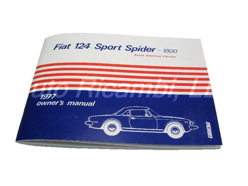 Fiat 124 spider 1977 owners manual fiat 124 spider parts fiat 124 spider 1977 owners manual 1966 85 classic spider auto ricambi publicscrutiny Images