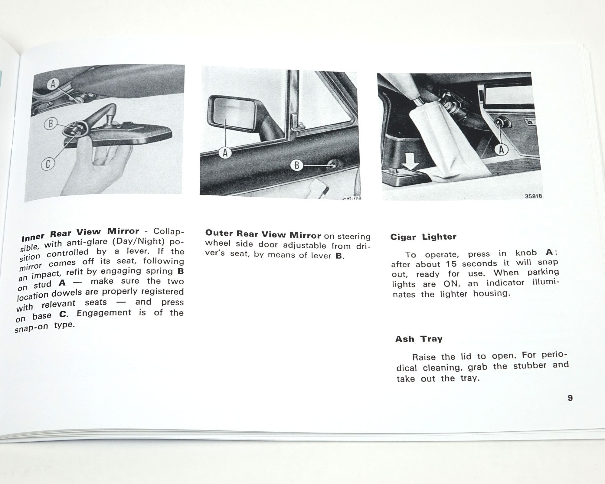Fiat 124 Spider 1979 Owners Manual Parts Rear Axle Schematic 1966 85 Classic Auto Ricambi