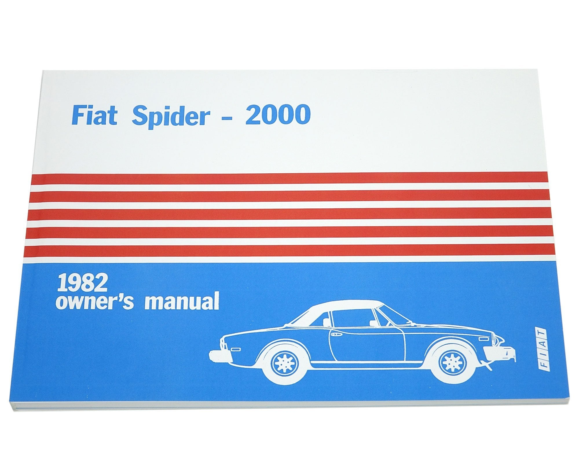 FIAT 124 Spider 1982 Owners Manual-1966-85 Classic Spider-[Auto Ricambi ...