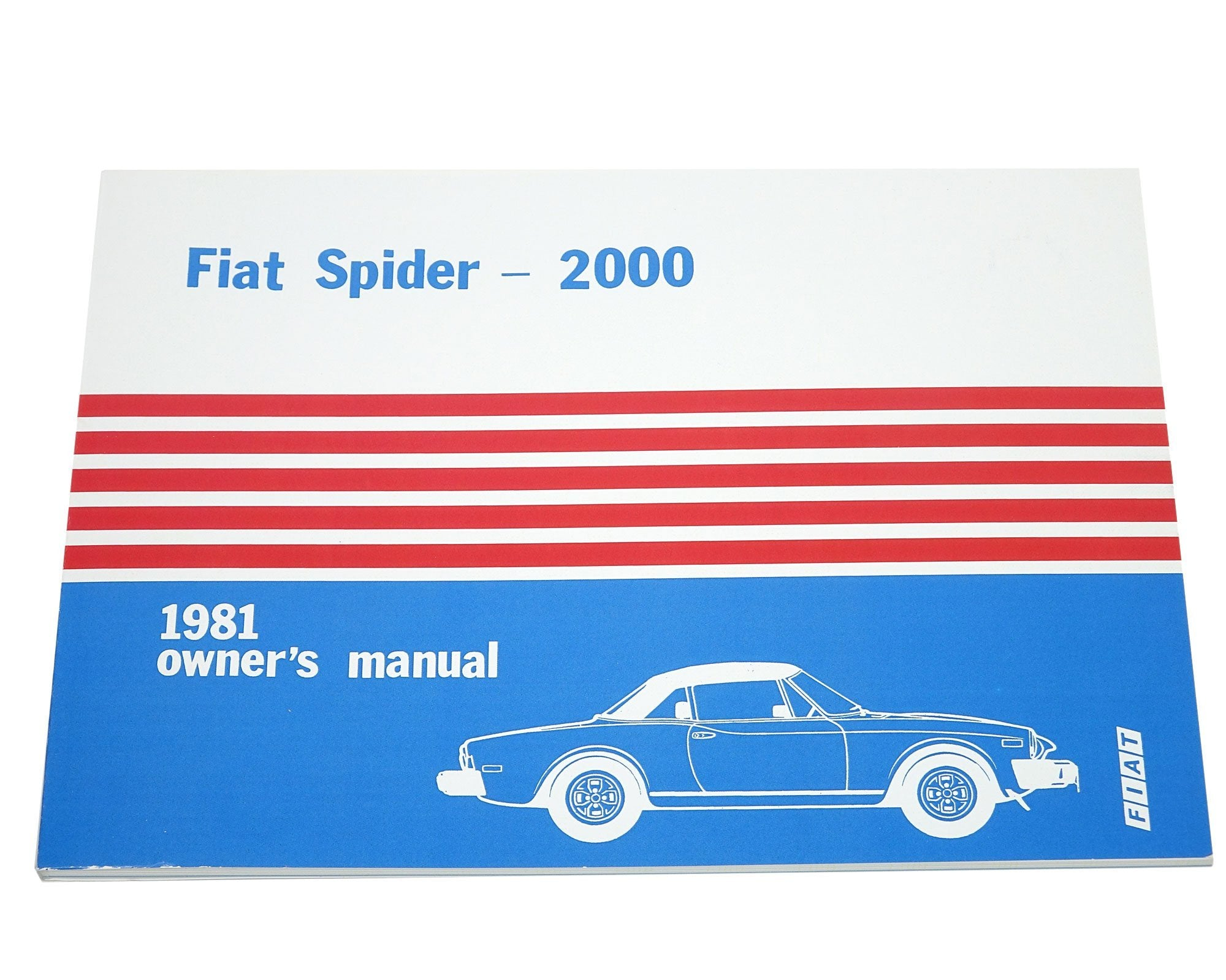 Fiat Spider 2000 1981 Owners Manual 124 Parts Wiring Diagram 1966 85 Classic Auto Ricambi