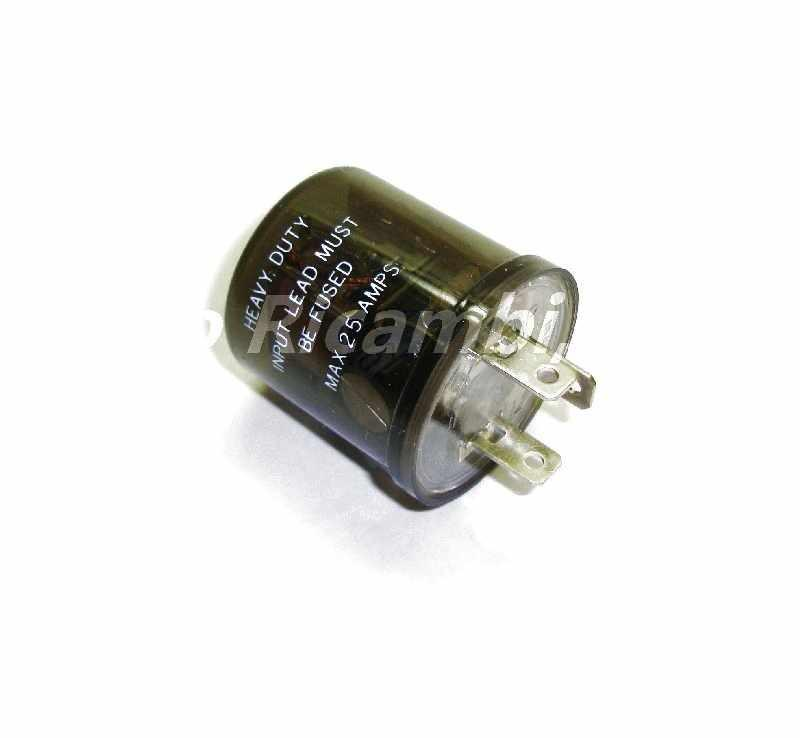 Flasher Relay Heavy Duty Electronic FIAT 124 Spider Parts